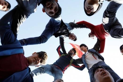 Fotoğraflarla Newroz coşkusu