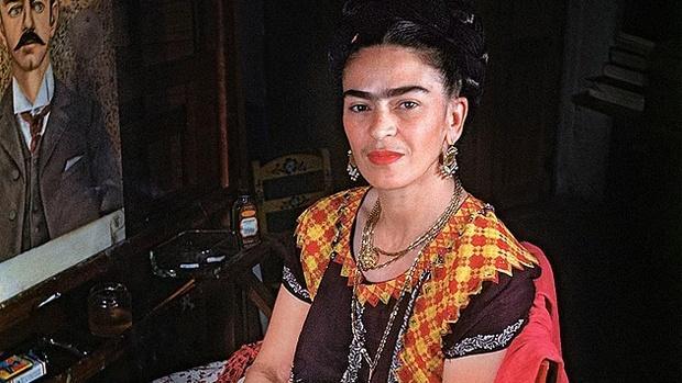 110. Doğum Günü Anısına Frida Kahlo
