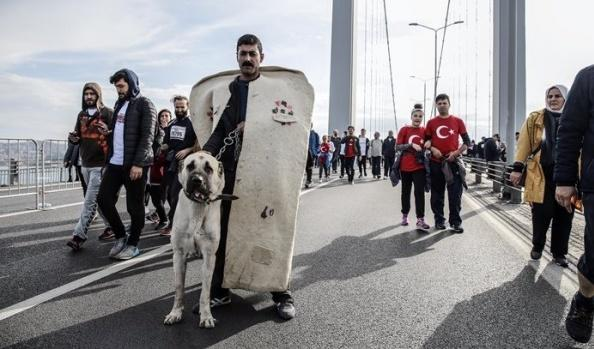 İstanbul maratonundan kareler