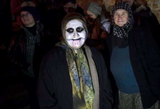 Edirne'de her yıl kutlanan Bocuk Gecesi bu yıl da renkli geçti.