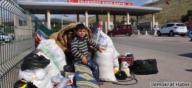 1500 Suriyeli ülkesine, yani 'savaşa' döndü