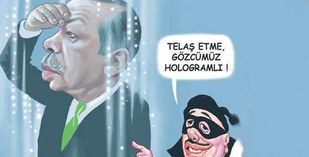 17-25 Aralık operasyonlarını çizen karikatüriste dava!