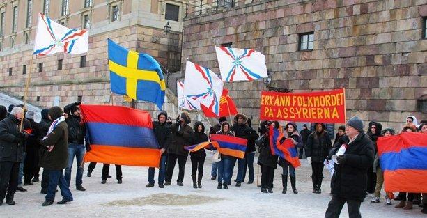 1915 Soykırımı kurbanları için İsveç'te ortak anma