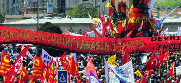 1 Mayıs için Taksim kararı
