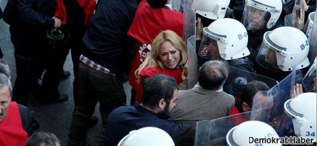 1 Mayıs komitesine Taksim'de müdahale