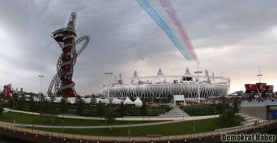 2012 Londra Olimpiyatları başladı