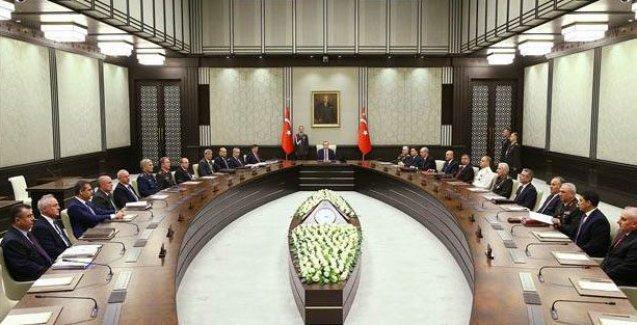 MGK toplantısından Suriye açıklaması