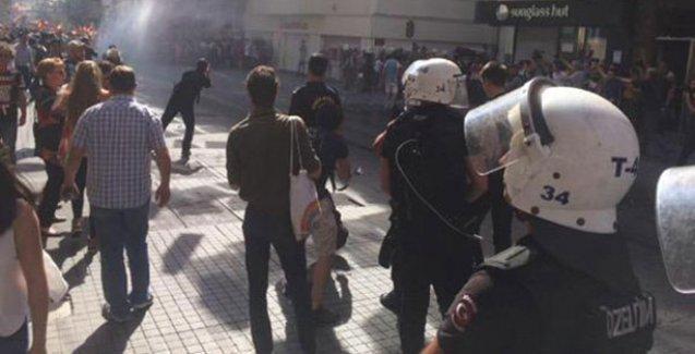 Onur Yürüyüşü'ne polis saldırısı!
