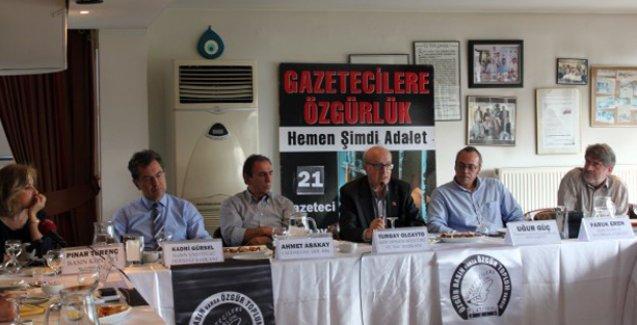 'Rehin alınan gazetecilik serbest bırakılsın'