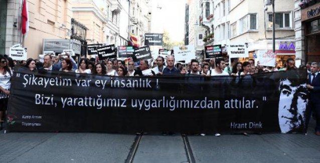 Taksim'de binler Kamp Armen için yürüdü, Kobani'ye 'selam' gönderdi