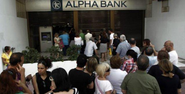 Yunanistan'da bankalar hafta boyunca kapalı olacak