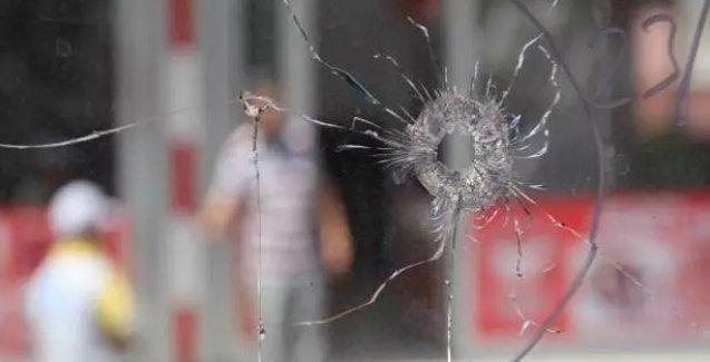 Adana'da HDP binası silahla taranıp, ses bombası atıldı