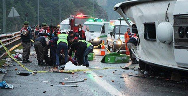 Bayram tatilindeki 5 günlük kaza bilançosu: 74 ölü, 377 yaralı