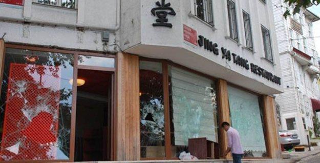 Bir Çin lokantası daha saldırıya uğradı