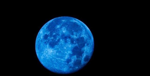 Bir yüzyılda yalnızca 5 sefer gözüken Mavi Ay, bugün kendini gösteriyor