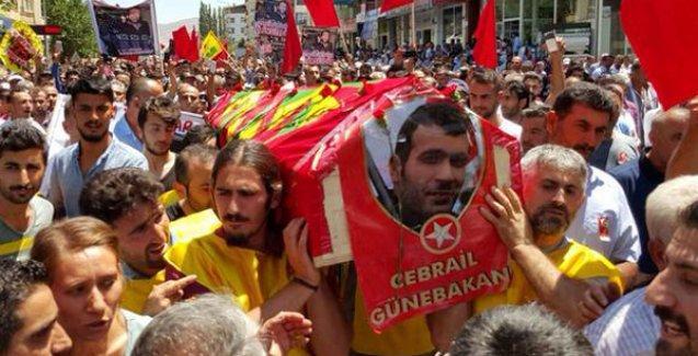 Cebrail Günebakan'ı binler uğurladı