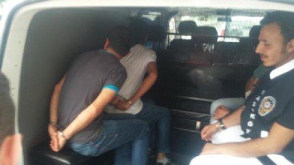 CHP'li Meclis üyesine saldıranlar yakalanarak adliyeye sevk edildi