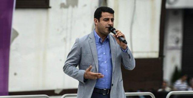 Demirtaş'tan Davutoğlu'na tek cümlelik yanıt: Hadi cnm inş ya!