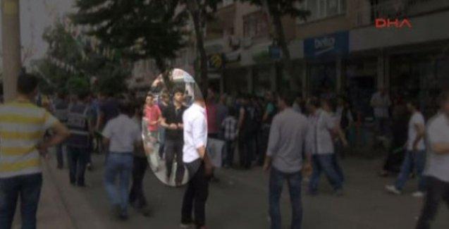 Diyarbakır'daki saldırının faili miting alanına böyle girmiş