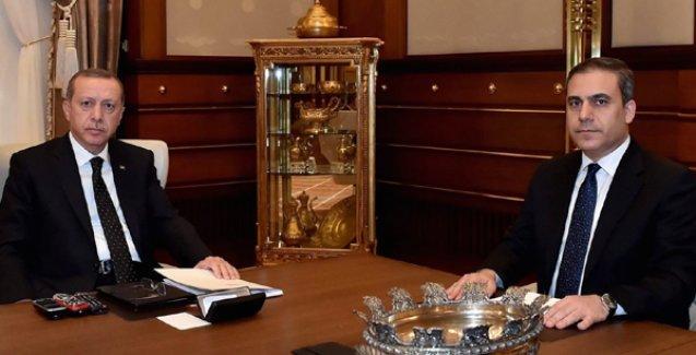 Erdoğan ile Hakan Fidan 1,5 saat görüştü