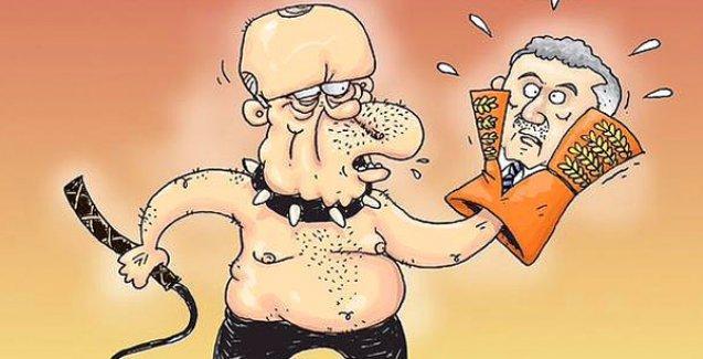 Gırgır'da, 'HSYK'da daha etkin olan' Erdoğan eline kırbacı aldı