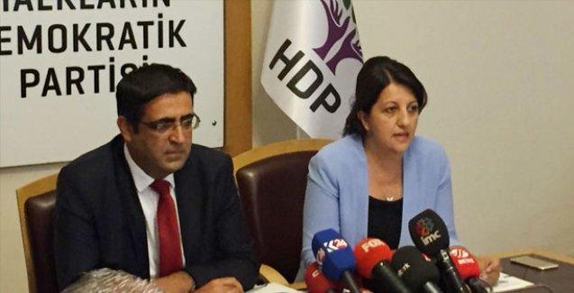 HDP: İçinde bulunduğumuz sürecin adı sivil darbedir