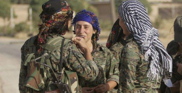 IŞİD'e karşı savaşan YPJ'liler Times'ta: 'IŞİD gittikten sonra savaşacak başka erkekler de olacak'