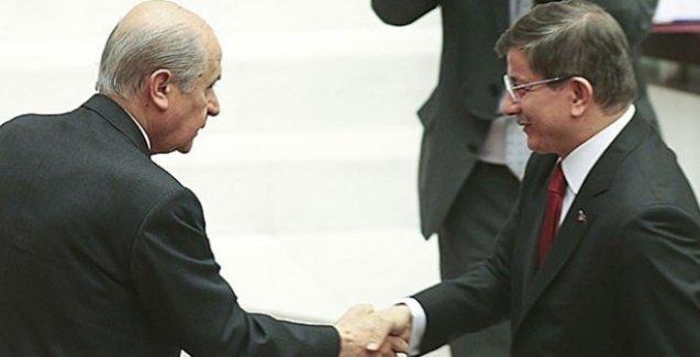 Koalisyon görüşmelerinin ikinci ayağı AKP-MHP görüşmesi bitti