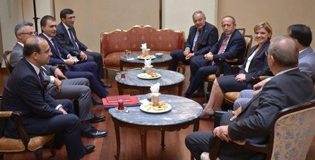 Koalisyon görüşmesi sonrası AKP ve CHP'den açıklamalar