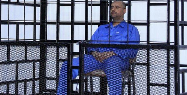 Muammer Kaddafi'nin oğluna idam cezası verildi