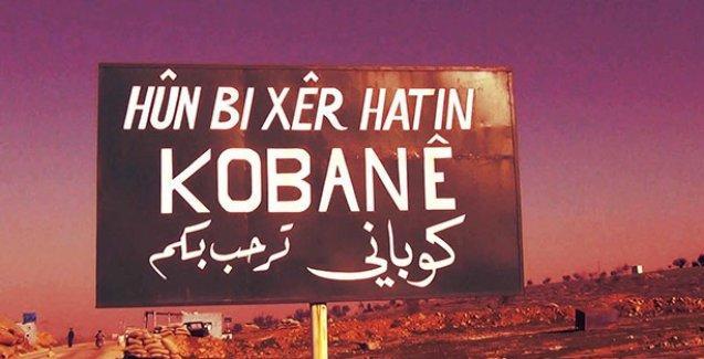 Okula çimle 'Kobani' yazan çocuğa ceza