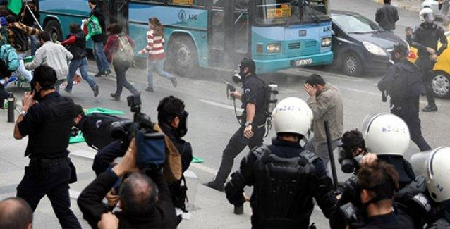 Polisin 'bebek düşüren' şiddeti Anayasa Mahkemesi'ne taşınıyor