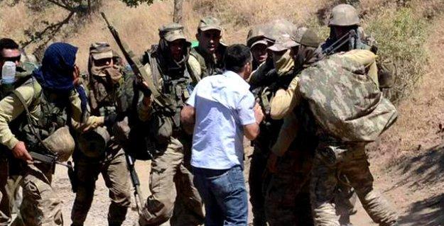 Roboski'de askerden HDP'li vekil Encü'ye: 'Burada biz devletiz, siz de terörist; ne milletvekili!'