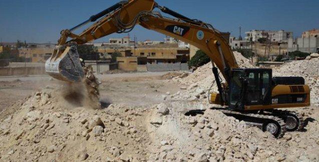 SGDF'lilerin arzuladığı gibi: Kobani'nin yeniden inşası için ilk kazma vuruldu