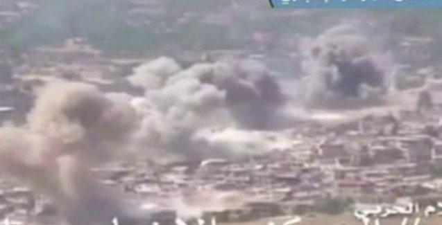Suriye ordusu ve Hizbullah Zabadani'ye operasyon başlattı