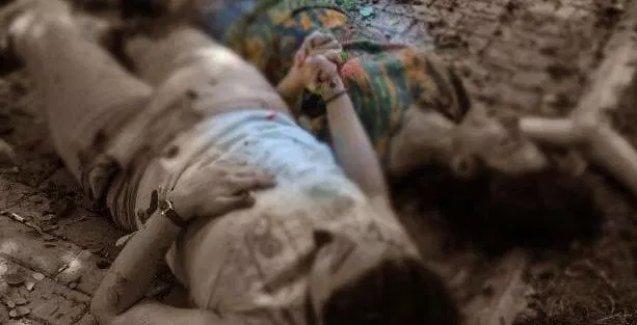 Suruç'taki katliamda çekilen bu fotoğraf Türkiye'yi salladı