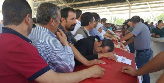Suruç'ta katledilenler için Antep'te tören