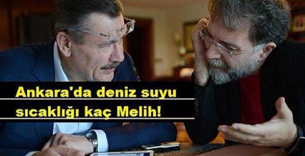 Ahmet Hakan'dan Gökçek'e: 'Angara'ya denizi getirmişsin haber vermiyon, vicdansız'