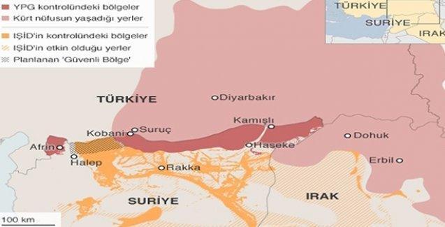 BBC: IŞİD, Türkiye sınırındaki köyleri ele geçirdi