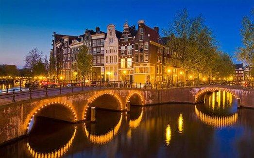 Bir rüya kenti: Amsterdam