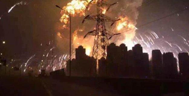 Çin'de büyük patlamalar: Ölü ve yaralılar var