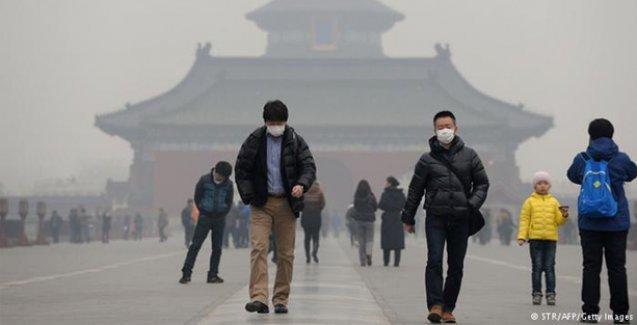 Çin'de günde 4 bin kişi hava kirliliğinden ölüyor