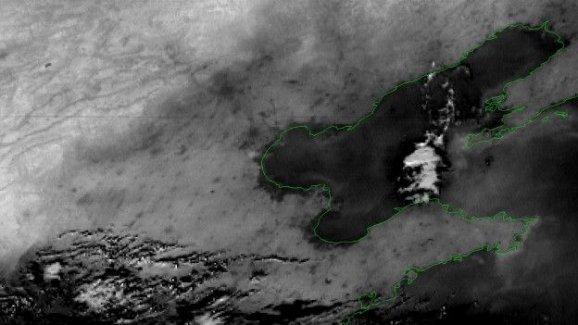 Çin'deki dev patlamalar uzaydan görüntülendi