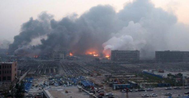 Çin'deki patlamada ölü sayısı 44'e yükseldi