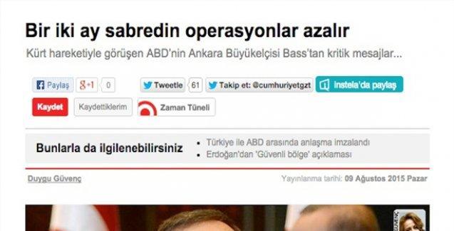 Cumhuriyet'in o haberine HDP'den tekzip geldi