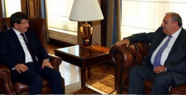 Başbakan Davutoğlu Türkeş'i kabul etti