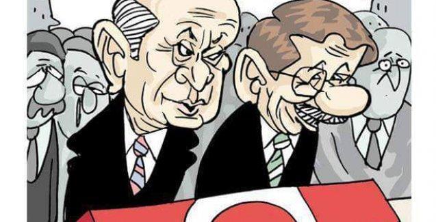Davutoğlu ve Bahçeli'nin 'kırmızı çizgileri' Leman'a kapak oldu!