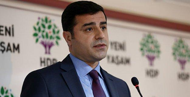 Selahattin Demirtaş'tan başkanlık referandumu önerisi