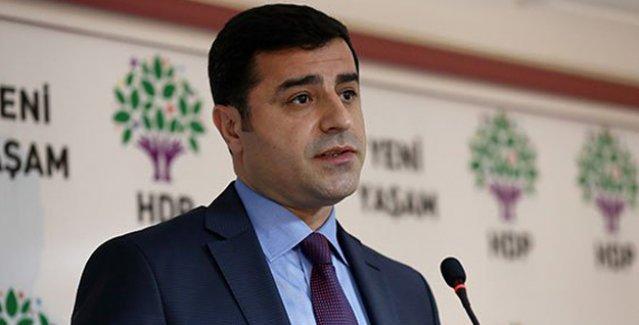 Demirtaş'tan çağrı: PKK derhal elini tetikten çekmeli, Hükümet operasyonları durdurmalı