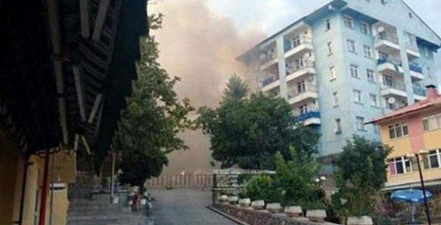 Dersim'de eş zamanlı saldırı: Bir polis yaşamını yitirdi